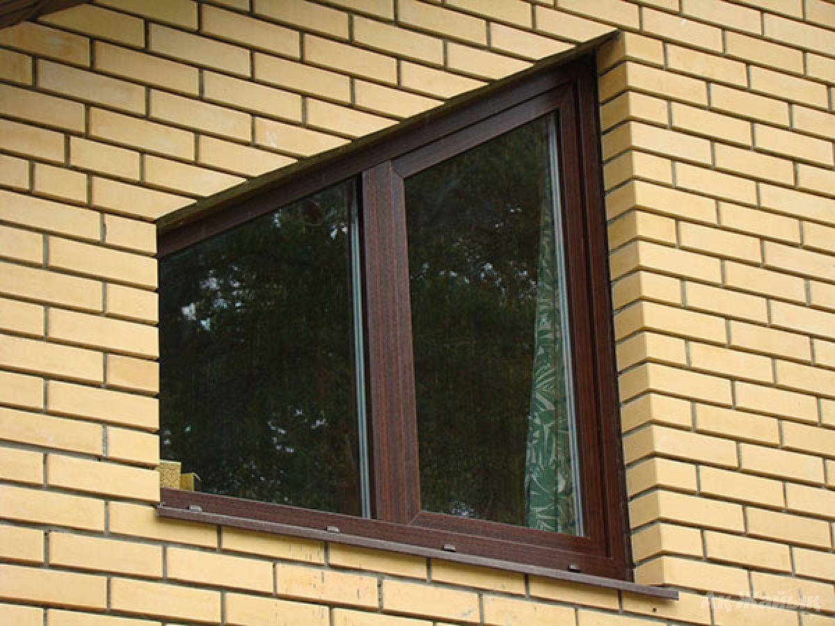 Остекление балкона пластиковыми окнами фото серого цвета..